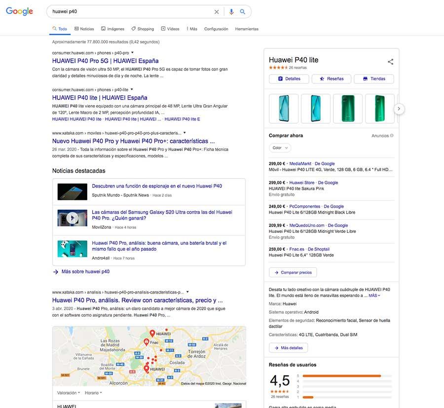 que es el SEM shopping de Google